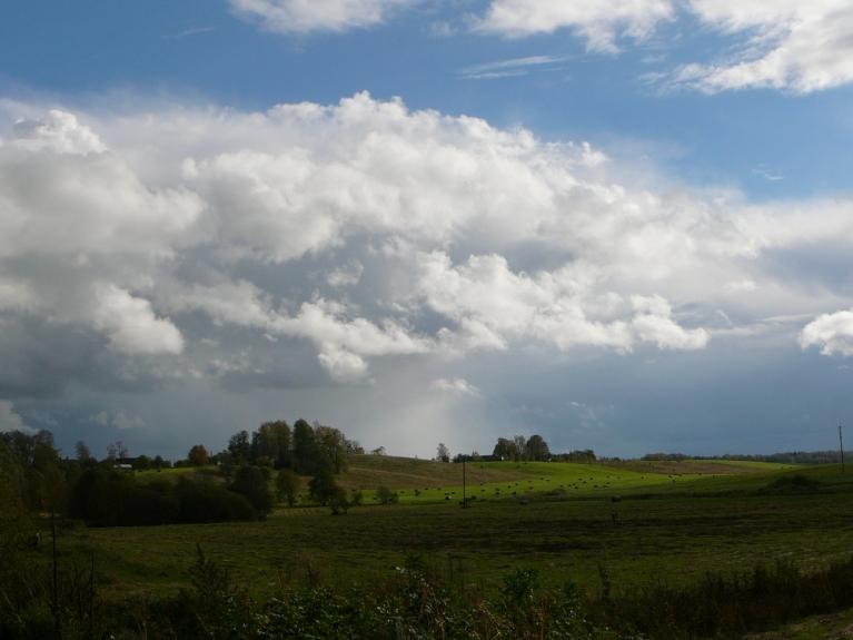 """7.oktobra pēcpusdiena. Ciklona Marianne """"dienvidu mala"""""""