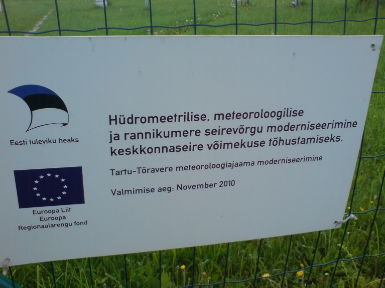 2010. gadā šī meteoroloģiskā stacija ir tikusi modernizēta piesaistot Eiropas reģionālā fonda līdzekļus.