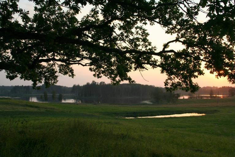 Autors: muntis. Vecpiebalga, 06.07.2012. Vakars pienāca kluss un mierīgs.
