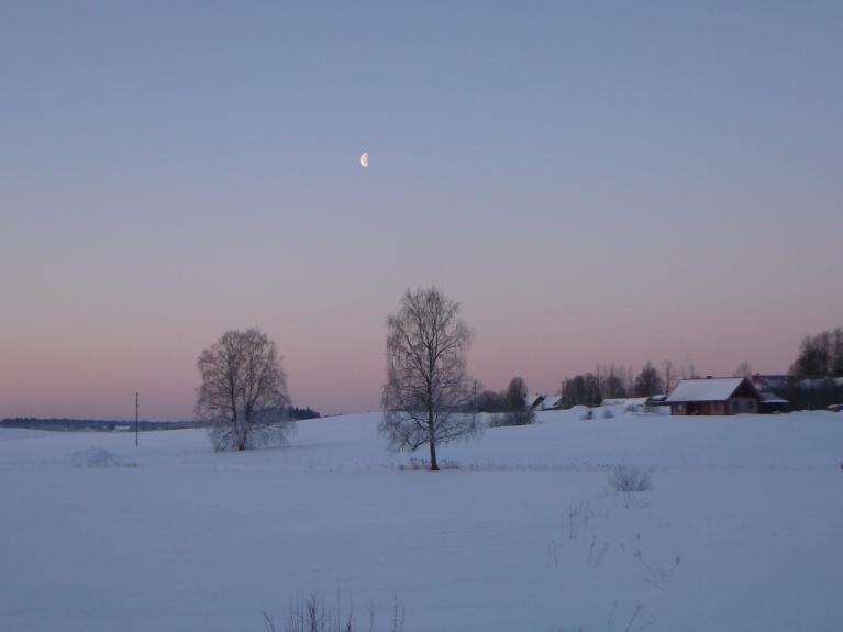 4. marta rīts -ar skaidrām debesīm un lauska spērieniem