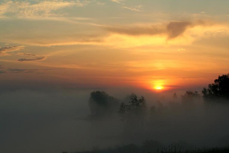 19. maija saullēkts.