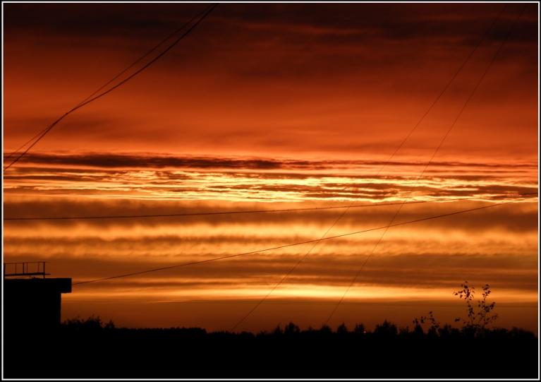 Autors: gubumākonis. 19.septembra saulriets