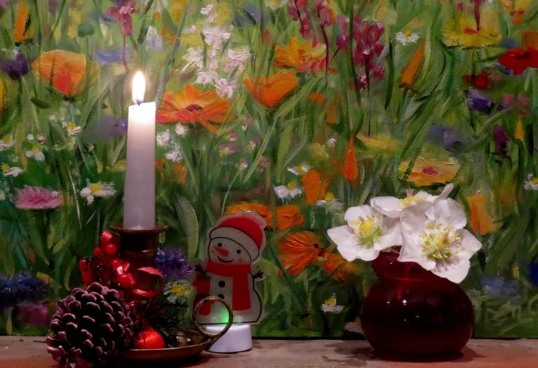 Baudīsim siltos Ziemassvētkus! Lai visiem labs prāts!