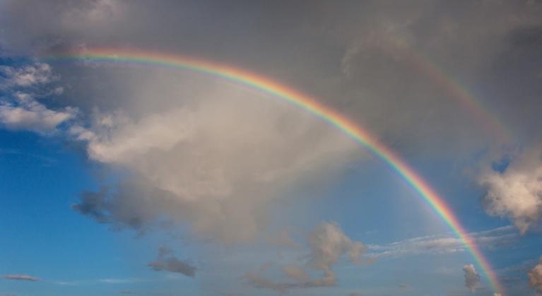 Primārā un sekundārā varavīksne, Rīga, 20. jūlijs