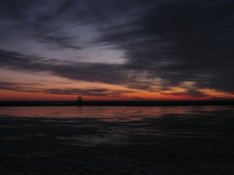 Saullēkts pie Liepājas ezera...