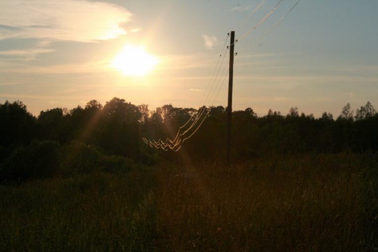 Trešdiena, 11.07. - brīdis pirms saulrieta.