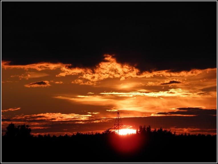 Foto: gubumākonis. Vakara saulriets (22.06.)