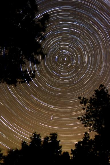 Zvaigžņu ceļi 2 h un 10 min laikā. Pape, 18.oktobris