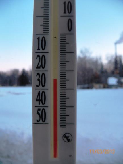 Zemākā temperatūra. Žīguri.
