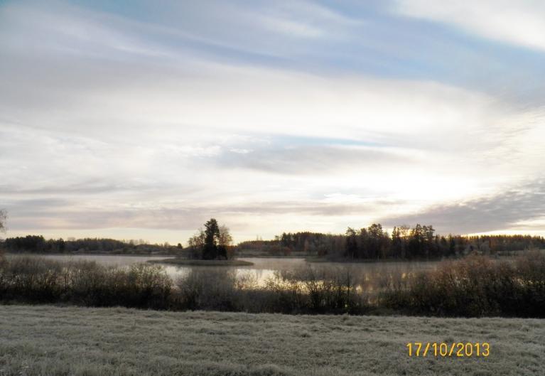 Gruzdovas (Tepenīcas) ezers.