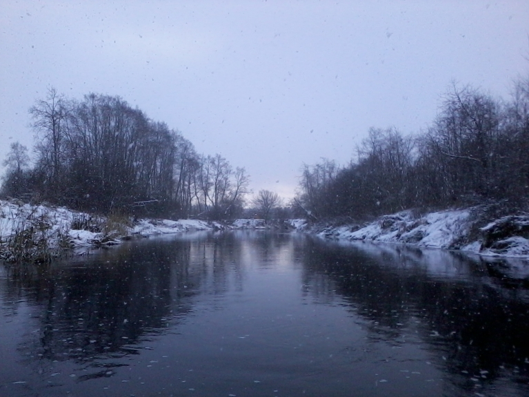 Pēcpusdienā uznāk daži līča efekta sniega mākoņi