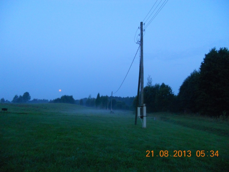 Tas pats mēness, bet no rīta