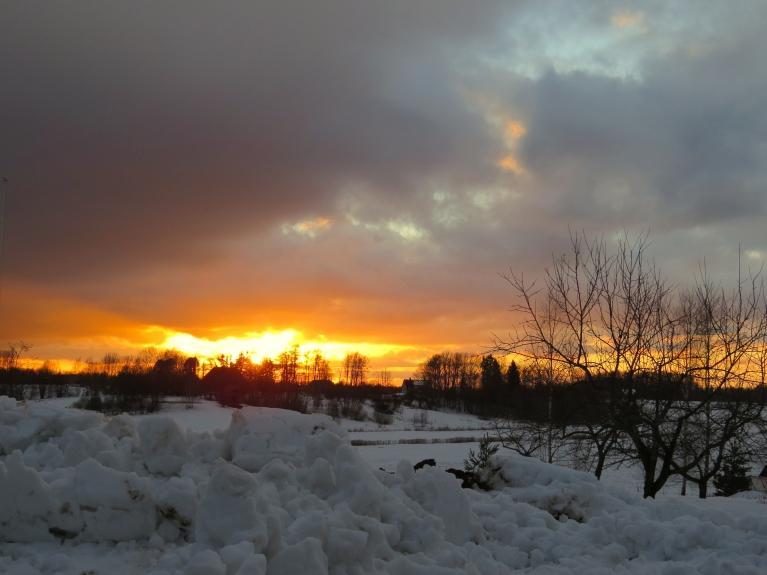 24. februāra saulriets.