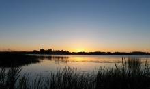 Saulgriežu laika saullēkts, mākoņi, negaisi