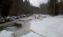 Ledus veidojumi Amatas ielejā