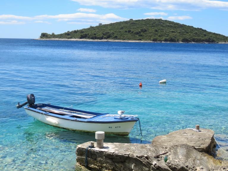 Adrijas jūra, Dalmācijas piekraste.