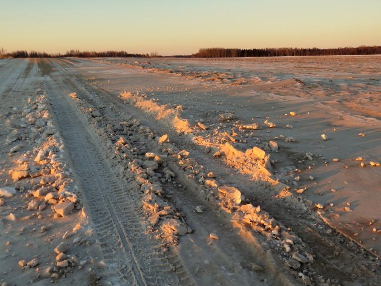 7. februāris-tas pats nelielais sniedziņš- nedaudz paputināts.