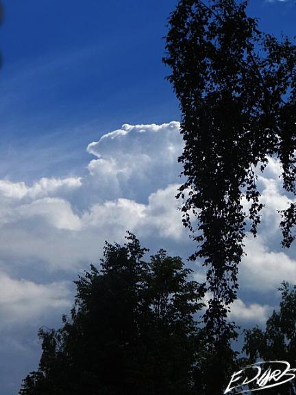 Jūnijam noslēdzoties, plosījās daži negaisi