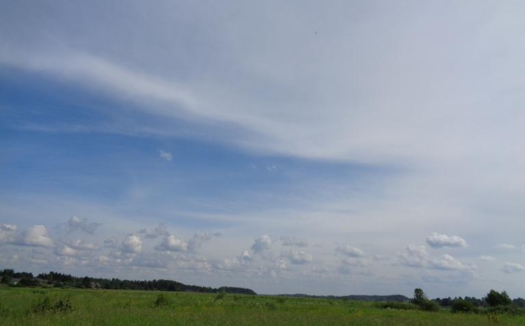 18. jūnija pēcpusdiena pļavās pie Daugavas