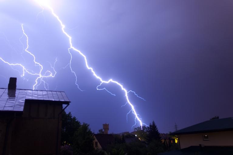Autors: orkaans. Spēcīgs negaiss naktī uz 22.maiju