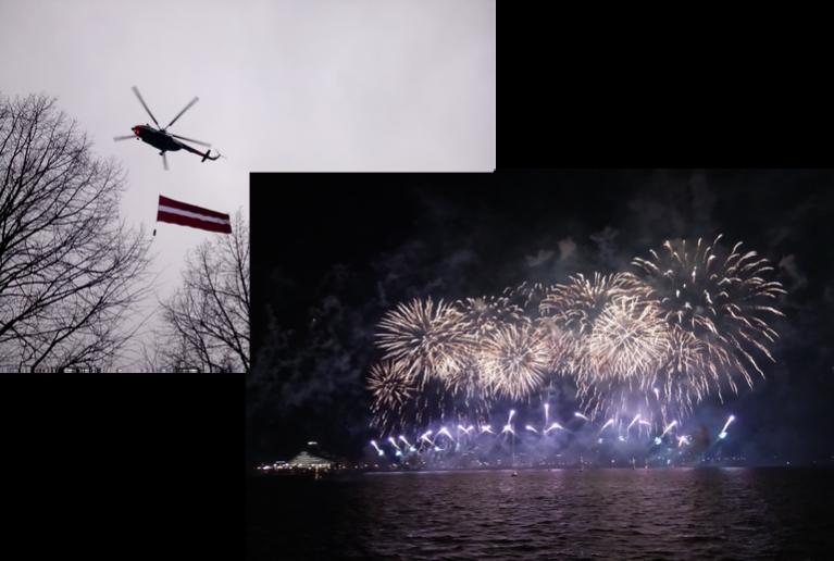Novembris pagāja, svinot Latvijas Valsts Dzimšanas dienu. Atšķirībā no pagājušā gada, šogad sniega nebija.