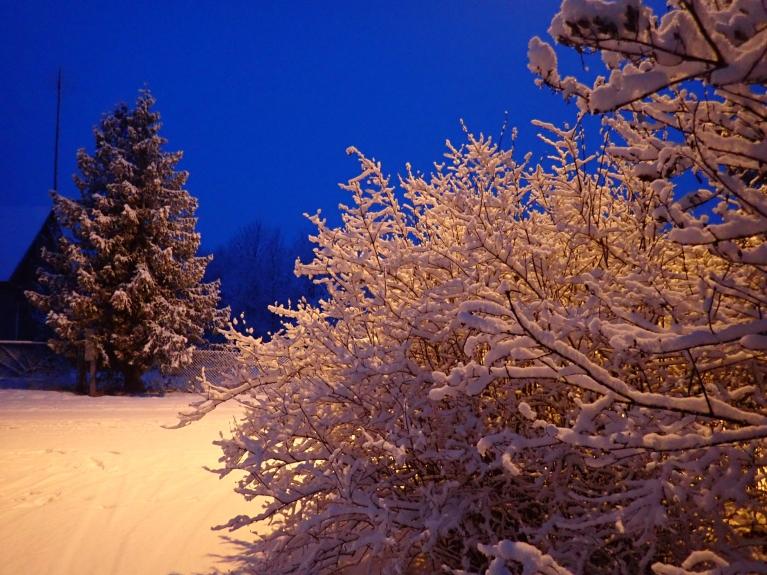 16. decembra rīts (vēl pilsētas apgaismojums nebija izslēdzies).