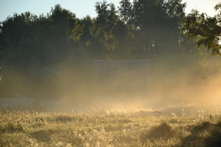 Septembris iesākās ar aukstu un lietainu laiku, bet jau drīz pēc tam temperatūra paaugstinājās...