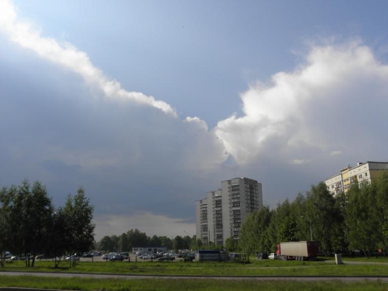 Autors: gubumākonis. Negaiss Rīgā, 21.maijs