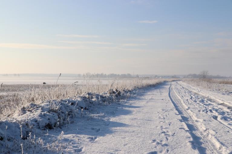 Turpat aiz Ventspils robežām manāmi miglas vāli