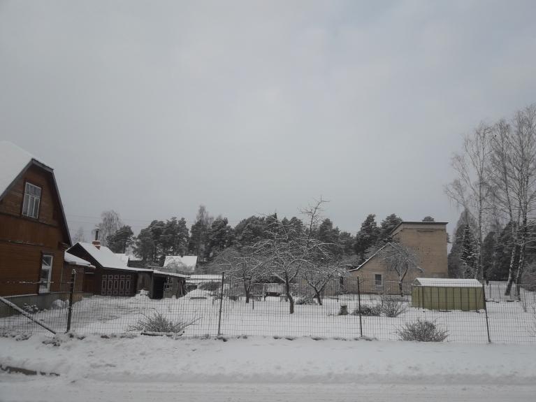Pēc ilgiem tumšajiem laikiem beidzot var novērtēt sniega burvību! :)