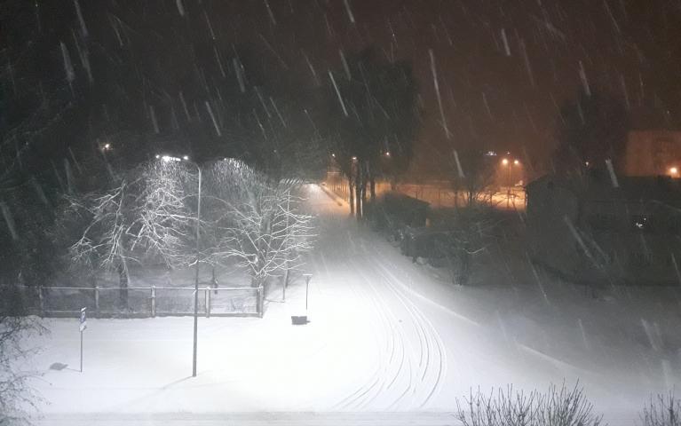 Turpina snigt...