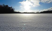 Beidzot  saulaina ziemas diena...