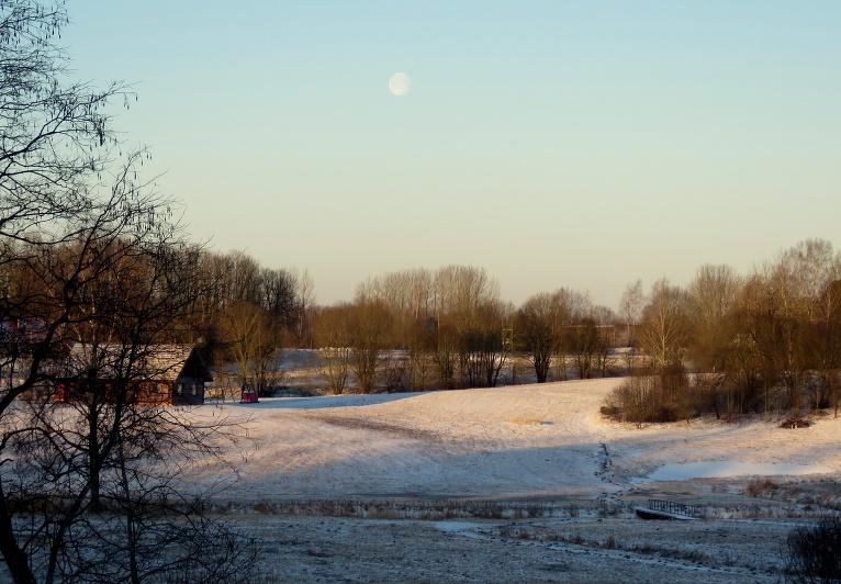 3. aprīļa rīts- vēl ziemīgs skats uz pasauli.