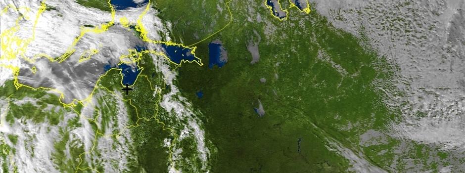 Meteoroloģisko pavadoņu satelītattēli