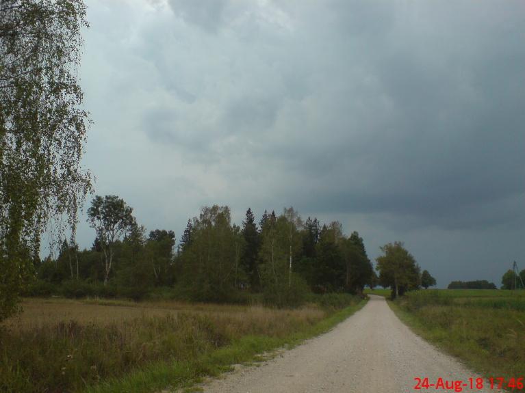 Pirms negaisa sākuma