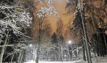 Ilgi gaidītais sniegs Rīgā
