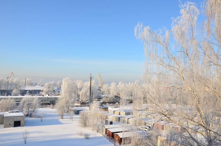 Skaistums no rīta 31. janvārī.