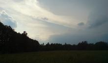 Tropiskās negaisa šūnas uznāciens 11.06.2019.