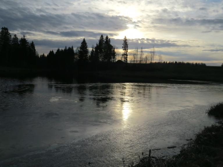 24. novembrī beidzot saule parādās uz ilgāku laika sprīdi.