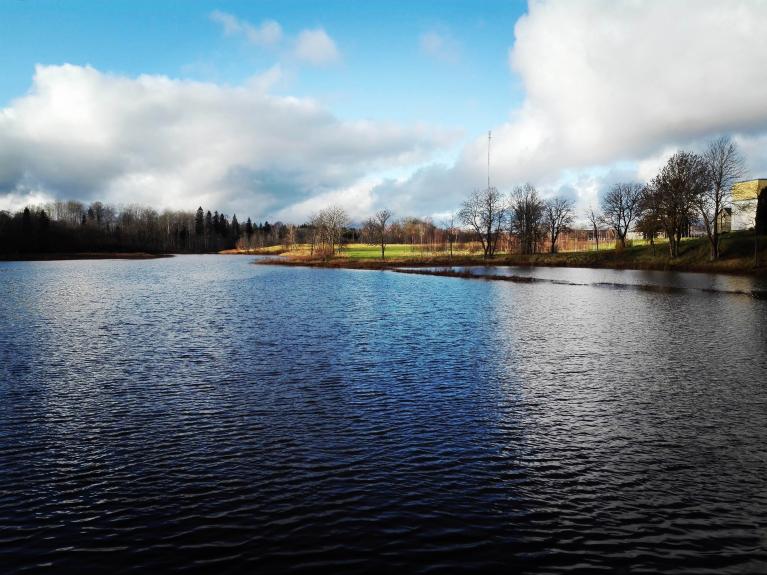 Viesatu ezers.