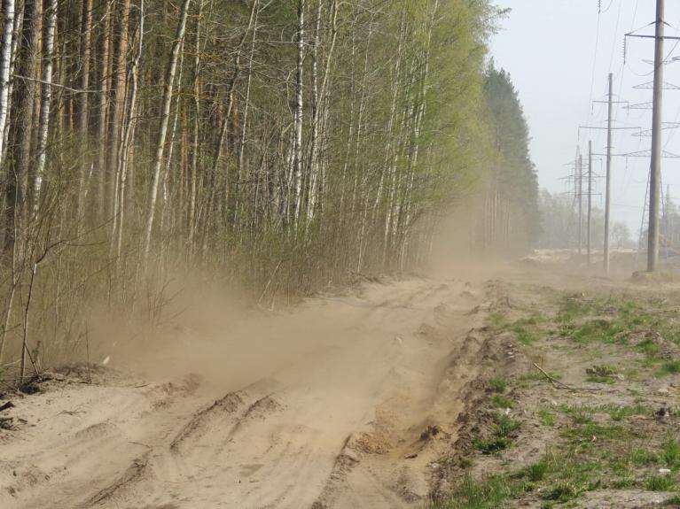 Maijs. Rīgas apkārtnē arvien vairāk pastiprinās sausums.