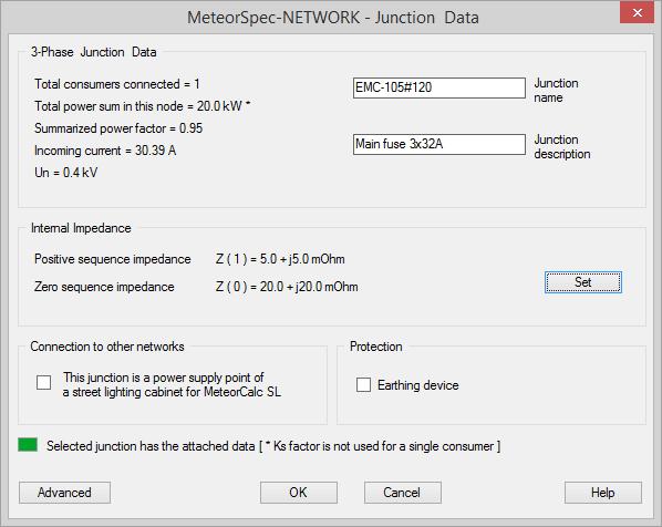 MeteorSpec LT - Junction Data