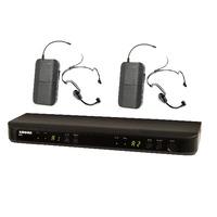 Shure BLX288H/PG30 İkili Headset Telsiz Mikrofon Seti