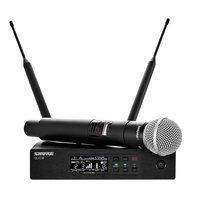 Shure QLXD24/SM58 Telsiz El Mikrofon Seti