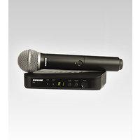 Shure BLX24E/PG58  El Tipi Telsiz Mikrofon Seti