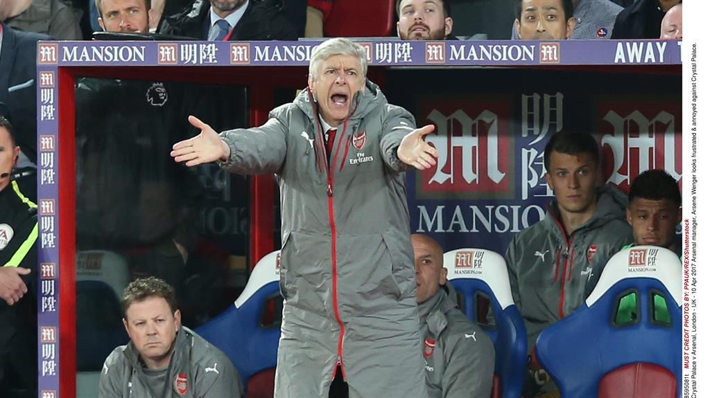 Crystal Palace inflict damaging defeat on Arsenal