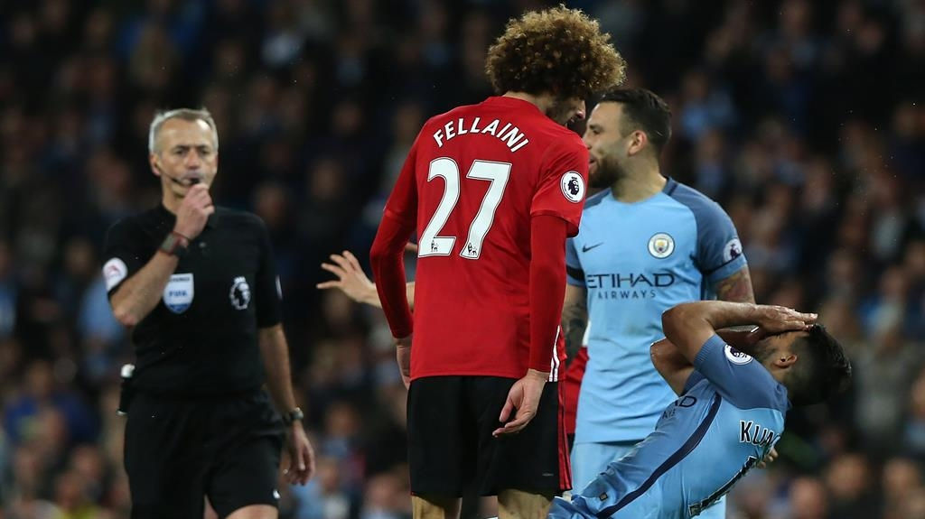 Pep Guardiola, Manchester City players react to Man Utd draw