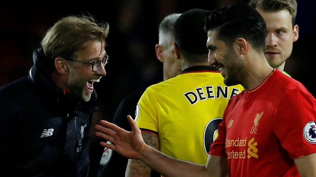 Emre Can overhead goal 'special and really wonderful' - Liverpool's Klopp