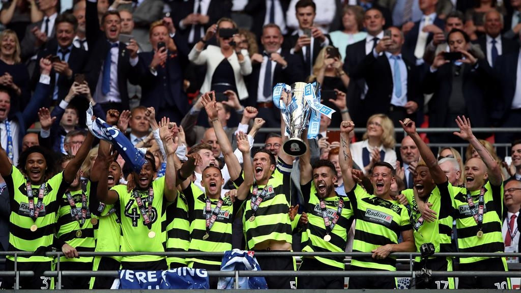 Huddersfield wins soccer's richest game, promoted to EPL