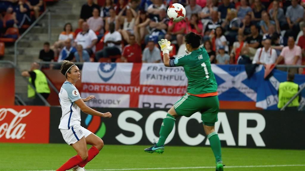 Jodie Taylor spearheads attacking England line-up in Euro opener against Scotland